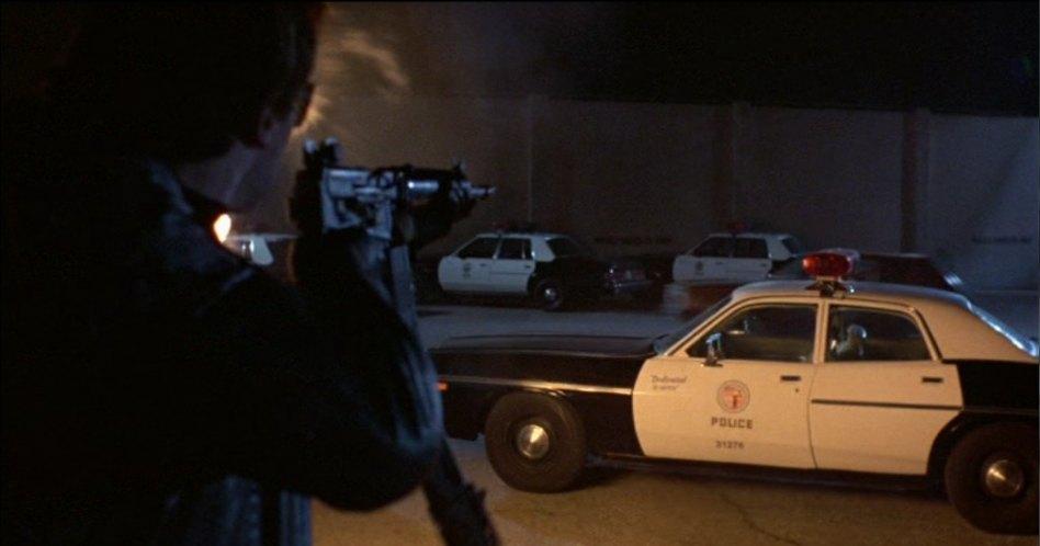 "Dodge Police Car >> IMCDb.org: 1979 Dodge St. Regis in ""The Terminator, 1984"""