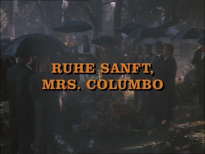 Columbo Ruhe Sanft