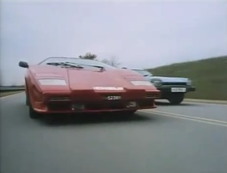 1985 lamborghini countach 5000 qv in speed zone 1989. Black Bedroom Furniture Sets. Home Design Ideas