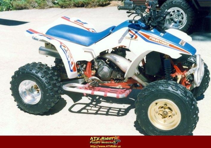 IMCDborg 1986 Honda Fourtrax 250 R in Firewalker 1986