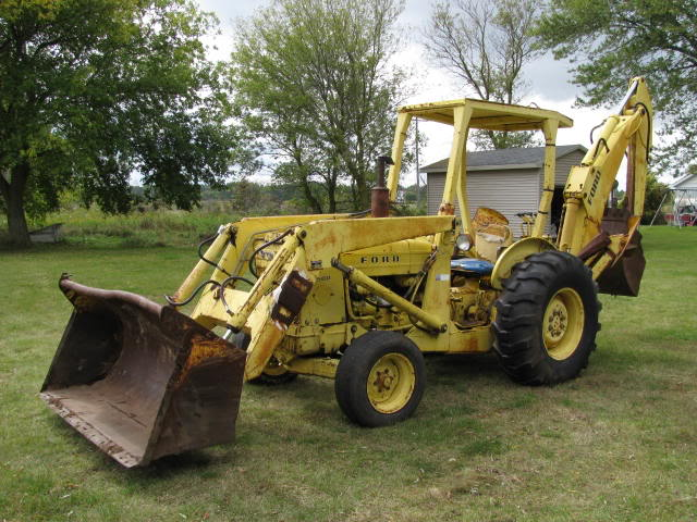 Ford 4500 Industrial Tractor Backhoe : Imcdb ford a in quot poltergeist ii the other side