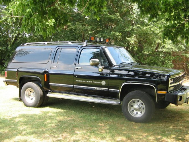 Vehicle 10400 Chevrolet Suburban V 2500 1989 on 1990 chevrolet r1500