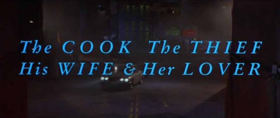 the cook thief his wife and her lover ending a relationship
