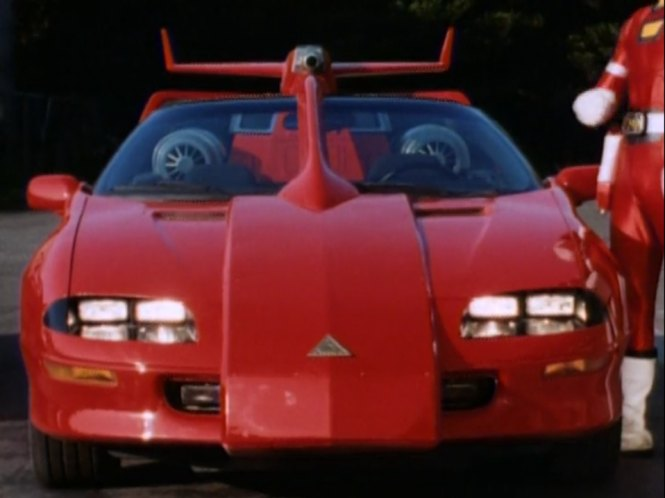 Imcdb Org 1993 Chevrolet Camaro In Quot Power Rangers Turbo