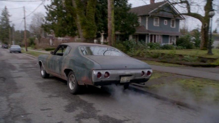 """IMCDb.org: 1971 Chevrolet Chevelle SS dans """"Supernatural ..."""