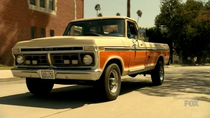 """2018 Ford F 350 >> IMCDb.org: 1977 Ford F-350 Camper Special in """"Lethal Weapon, 2016-2018"""""""
