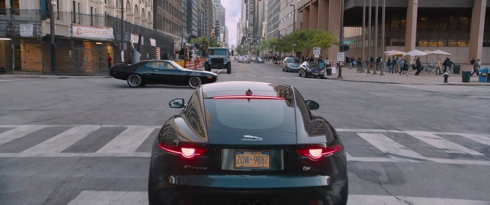 """F Type Coupe >> IMCDb.org: 2016 Jaguar F-Type Coupé S [X152] in """"The Fate of the Furious, 2017"""""""