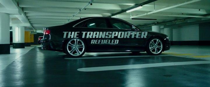 Car in movie transporter