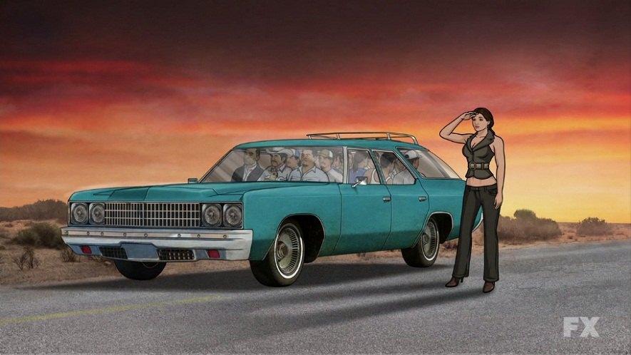 Impala SS in movies Wagon448
