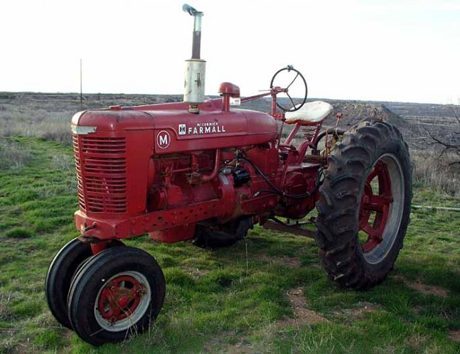 Dating Farmall Tractor