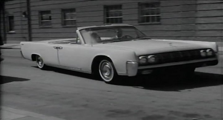 1964 lincoln continental four door convertible 74a in the defilers 1965. Black Bedroom Furniture Sets. Home Design Ideas