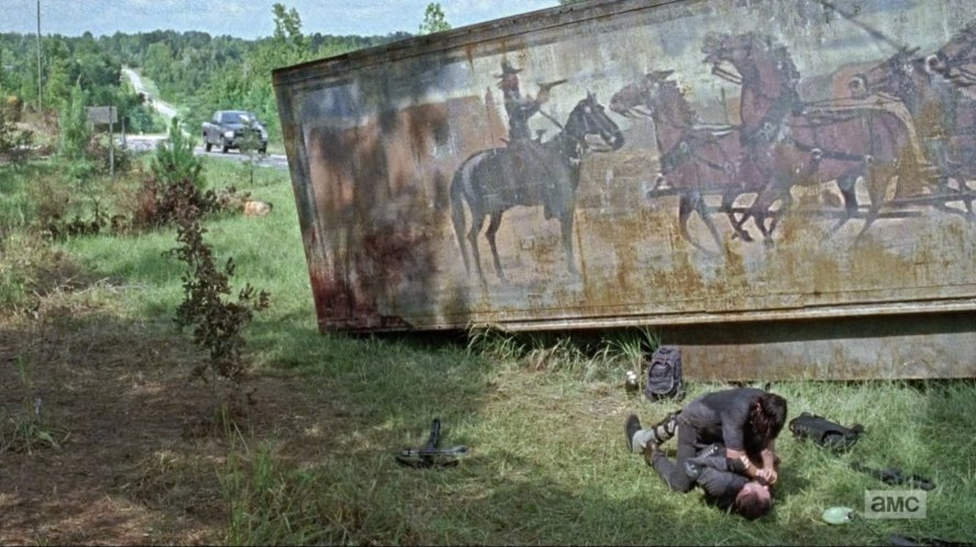 1972 kenworth w 900 a in smokey and the bandit for Mural walking dead