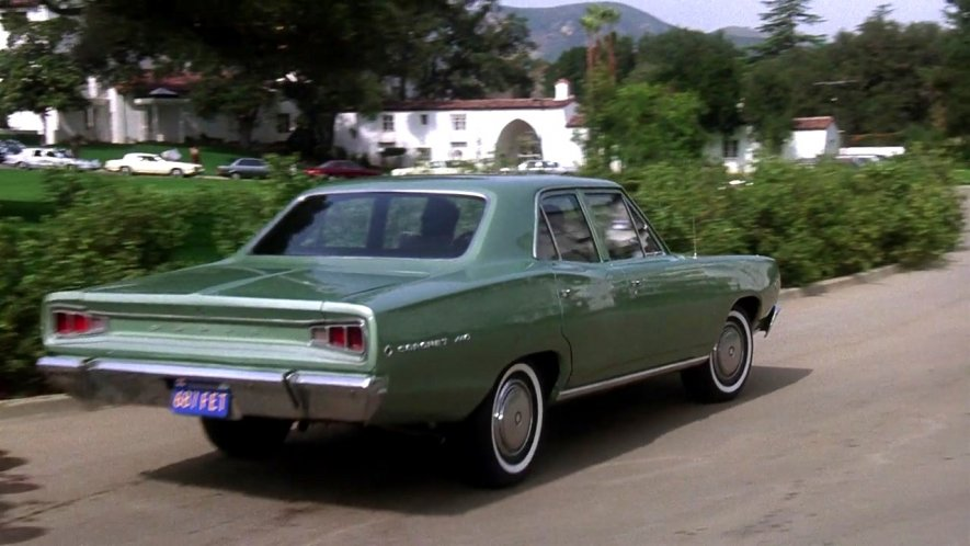 Imcdb Org 1968 Dodge Coronet 440 In Quot Shattered 1991 Quot