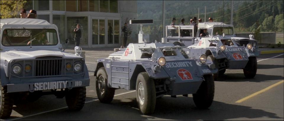 1954 daimler ferret scout car mki in short circuit 1986. Black Bedroom Furniture Sets. Home Design Ideas
