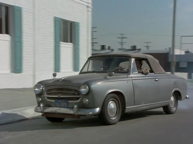 1960 peugeot 403 cabriolet in columbo publish or perish 1974. Black Bedroom Furniture Sets. Home Design Ideas