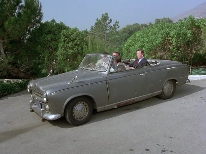 1960 peugeot 403 cabriolet in columbo last salute to the commodore 1976. Black Bedroom Furniture Sets. Home Design Ideas