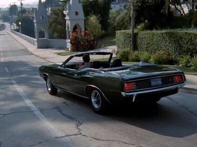 """Dodge Challenger Convertible >> IMCDb.org: 1970 Plymouth 'Cuda in """"Mannix, 1967-1975"""""""