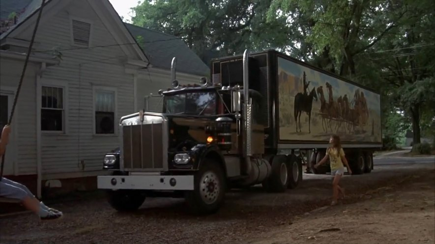 1972 kenworth w 900 a in smokey and the bandit 1977. Black Bedroom Furniture Sets. Home Design Ideas