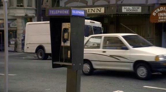 "IMCDb.org: 1988 Ford Festiva In ""The X Files, 1993-2002"""
