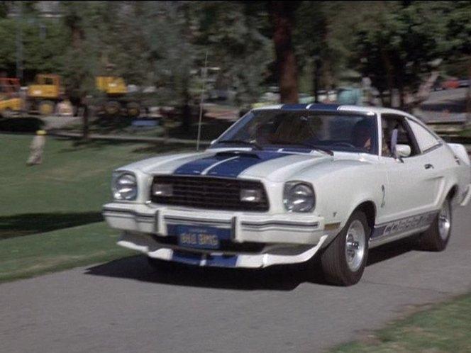 1976 Ford Mustang Cobra II In Charlies Angels