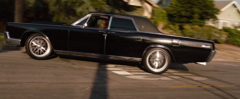 1967 lincoln continental in hit and run 2012. Black Bedroom Furniture Sets. Home Design Ideas