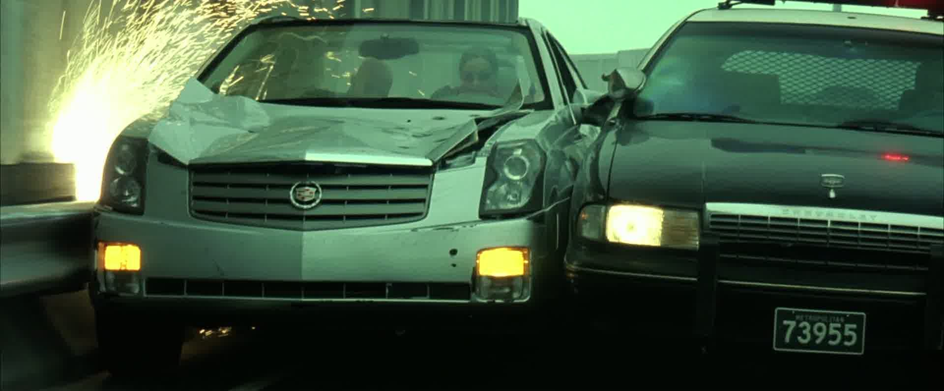 Imcdb Org 2003 Cadillac Cts In Quot The Matrix Reloaded 2003 Quot