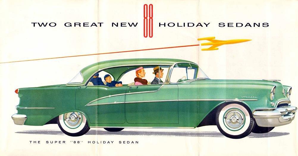IMCDb org: 1955 Oldsmobile Super 88 Holiday Hardtop in