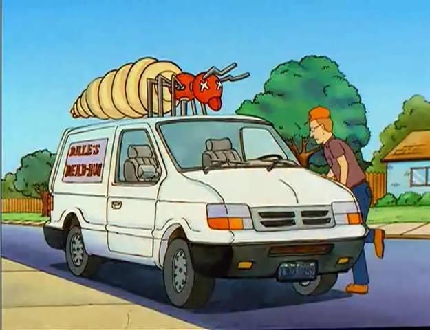 "IMCDb.org: 1991 Dodge Caravan C/V in ""King of the Hill, 1997-2010"""
