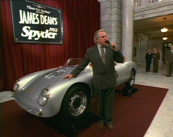 "Porsche Long Beach >> IMCDb.org: 1955 Porsche 550 Spyder Replica 'Little Bastard' in ""The Darkling, 2000"""