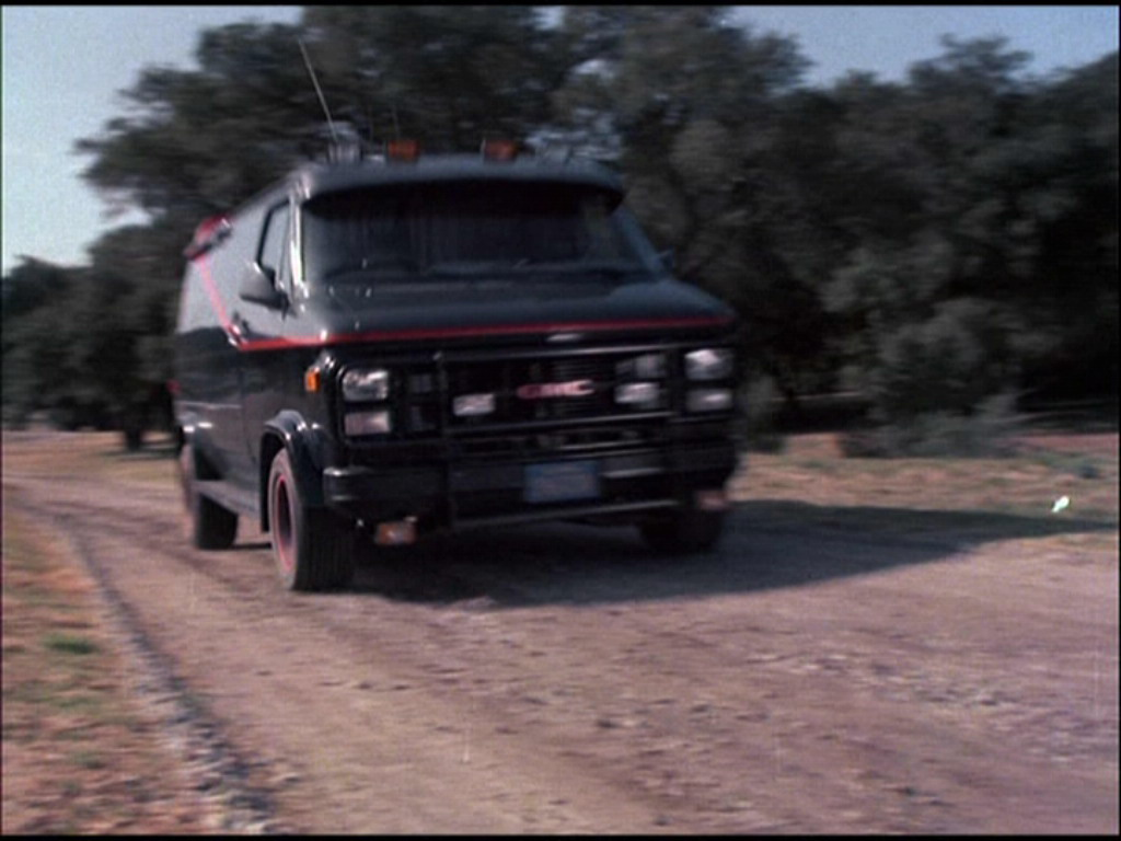 IMCDborg 1983 GMC Vandura G 1500 In The A Team 1987