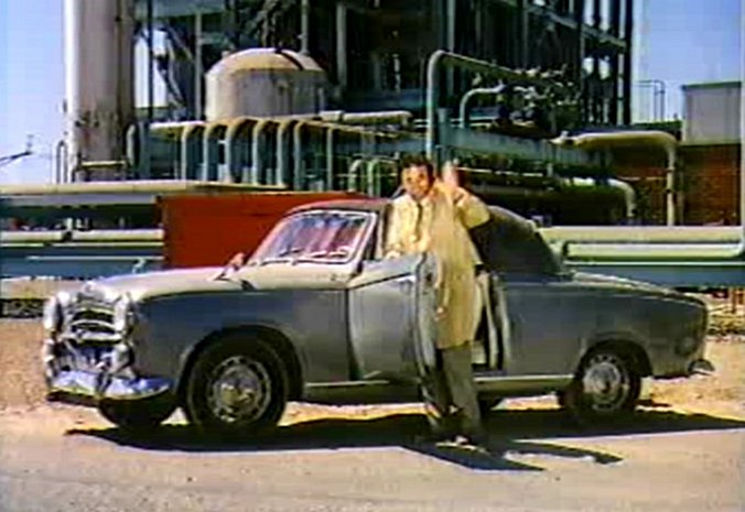 1960 peugeot 403 cabriolet in columbo short fuse 1972. Black Bedroom Furniture Sets. Home Design Ideas