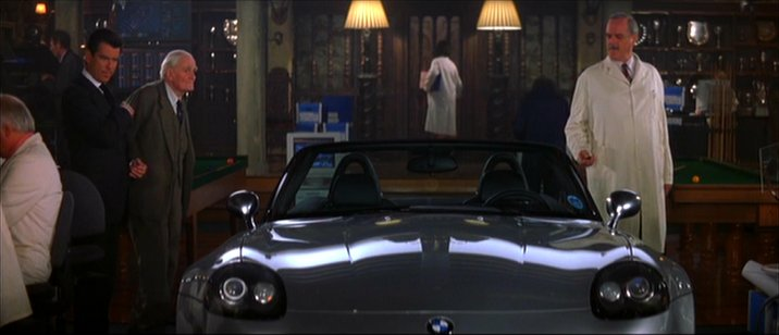 Imcdb Org 1999 Bmw Z8 E52 In Quot The World Is Not Enough