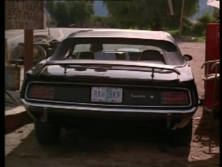 "2018 Plymouth Cuda >> IMCDb.org: 1970 Plymouth Hemi 'Cuda 426 Replica in ""Phantasm III: Lord of the Dead, 1994"""