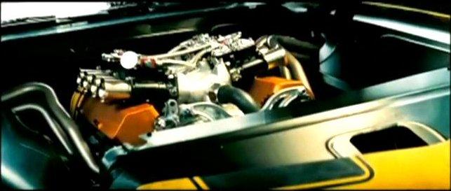 Transformer camaro engine