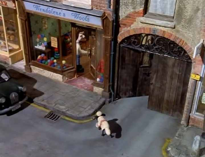 Imcdb Org Quot Wallace Amp Gromit In A Close Shave 1995 Quot Cars
