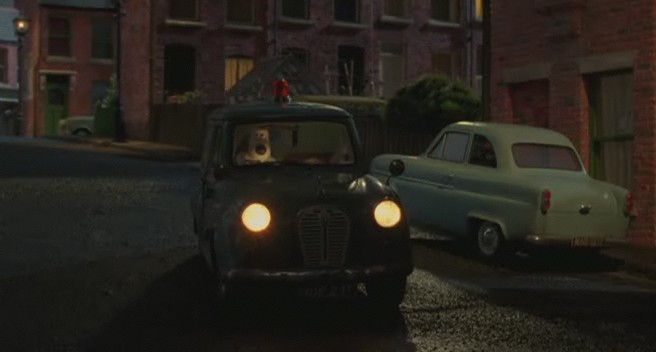 """IMCDb.org: 1957 Ford Anglia [100E] in """"Wallace & Gromit: The Curse of the Were-Rabbit, 2005"""""""