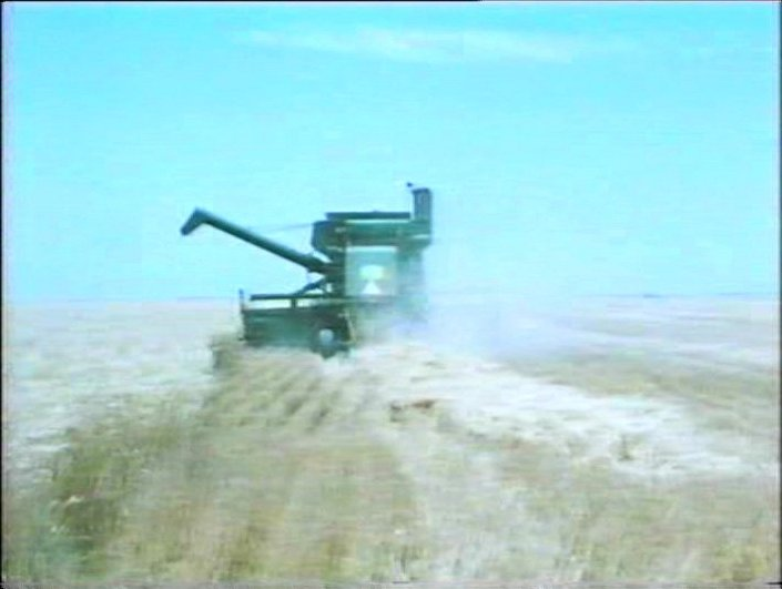 """John Deere Combine >> IMCDb.org: John Deere 105 Combine Harvester in """"Not the ..."""