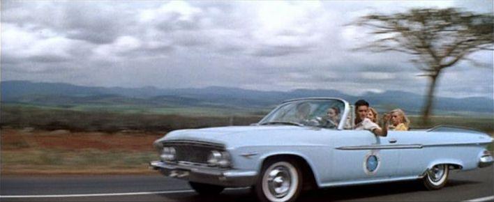 "Used Cars Phoenix >> IMCDb.org: 1961 Dodge Dart Phoenix Convertible in ""Blue Hawaii, 1961"""