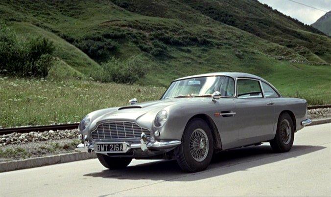 IMCDb.org: 1963 Aston Martin DB5 [DP216/1] in