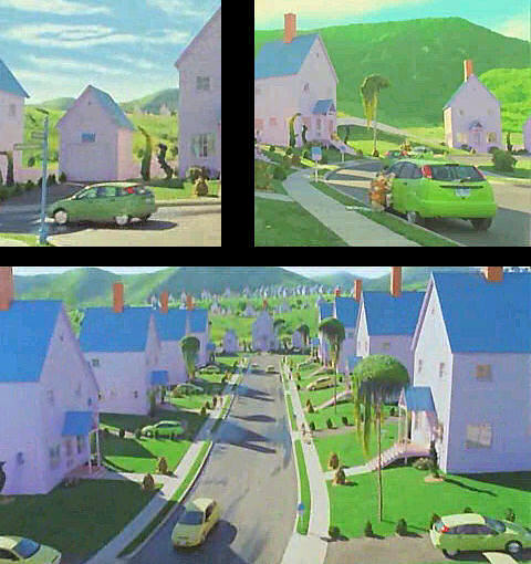 """Cast Of The Cat In The Hat: IMCDb.org: 2002 Ford Focus ZX5 In """"The Cat In The Hat, 2003"""""""