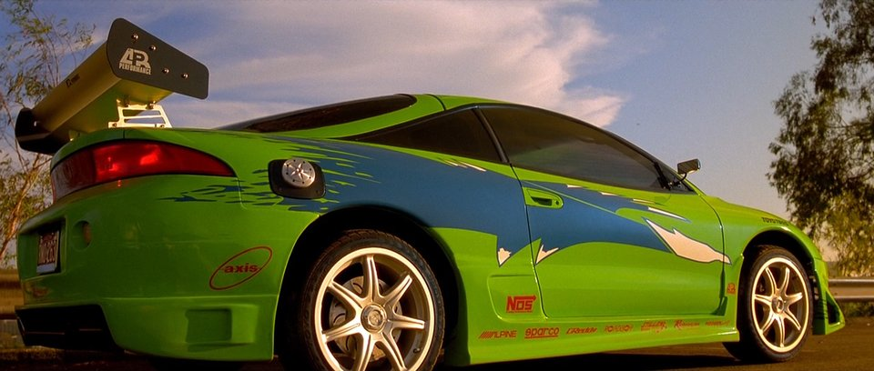 IMCDb.org: 1995 Mitsubishi Eclipse RS 2G [D31A] in