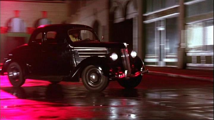 """Ford Used Cars >> IMCDb.org: 1936 Ford V8 De Luxe Coupe [68] in """"Dick Tracy ..."""