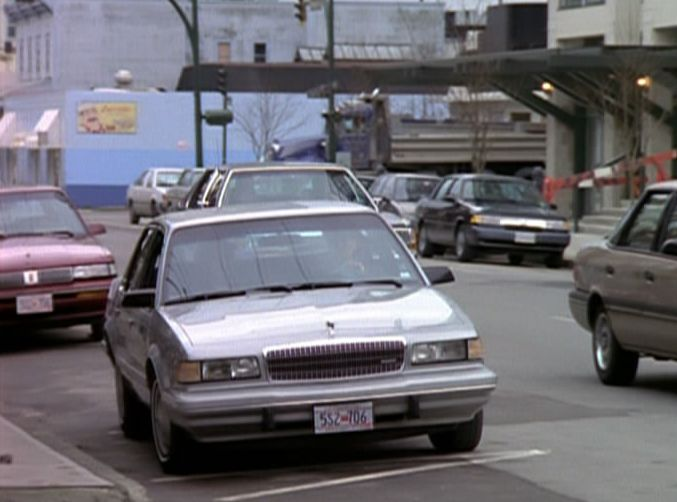 1993 buick century custom sedan in the x files. Black Bedroom Furniture Sets. Home Design Ideas