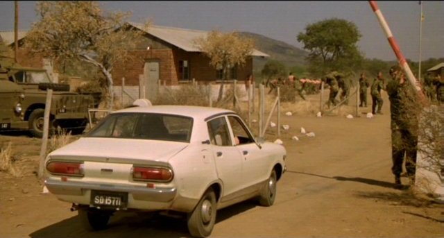 Imcdb Org 1976 Datsun 120y B210 In Quot The Wild Geese 1978 Quot