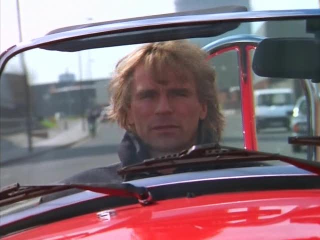 """IMCDb.org: """"MacGyver: Trail to Doomsday, 1994"""": cars ..."""