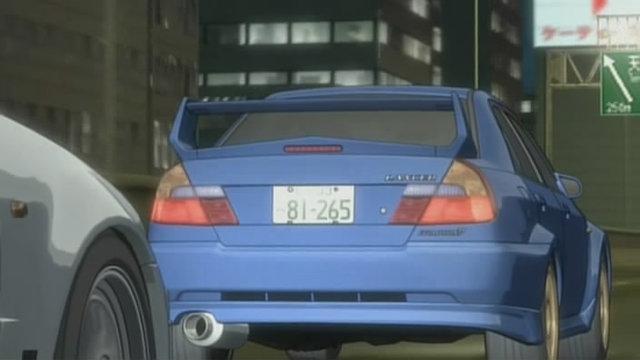 """IMCDb.org: Mitsubishi Lancer Evolution V in """"Wangan ..."""