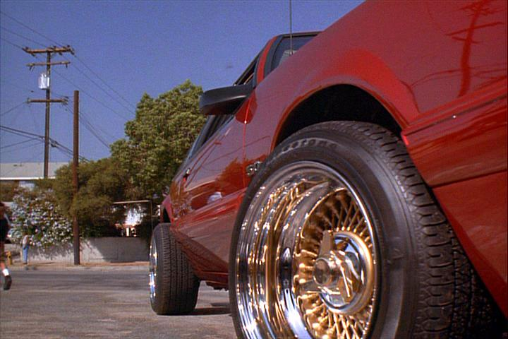 "IMCDb.org: 1990 Ford Mustang LX in ""Menace II Society, 1993"""