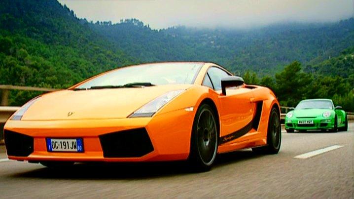 """imcdb: 2007 lamborghini gallardo superleggera in """"top gear, 2002"""