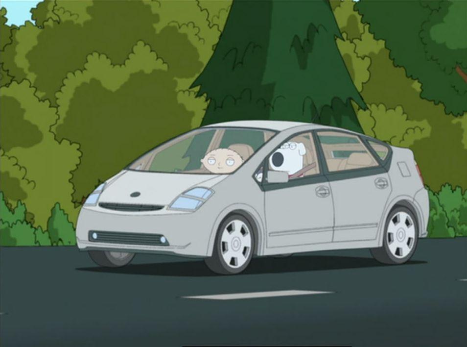 "IMCDb.org: 2004 Toyota Prius II [NHW20] in ""Family Guy ..."