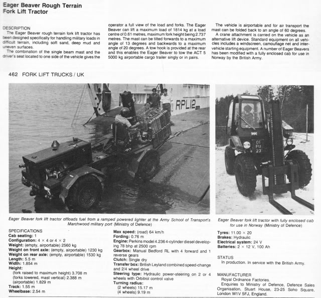 IMCDb org: ROF Eager Beaver Rough Terrain Fork Lift Mk 2 in